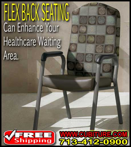 Discount Hospital & Doctors Office Flex Back Seating For Sale Cheap Direct From Manufacturer Pricing Can Save You Money Today!