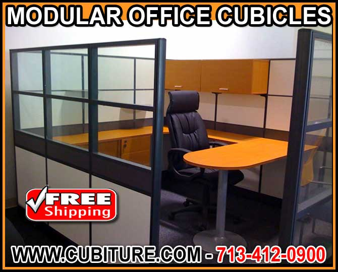Modular Office Cubicles That Work LIke Private Offices HM-897462