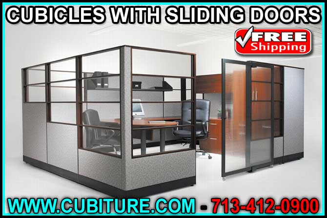 Discount Custom Made Cubicles With Sliding Doors For Sale Manufacturer Direct Pricing