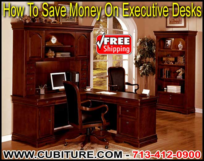 Discount Executive Office Desks For Sale In Dallas, San Antonio, Galveston, Sugarland, and Katy, Texas