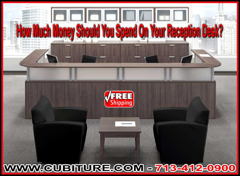 Discount Reception Desk For Sal;e Factory Direct Means Lowest Price Guaranteed