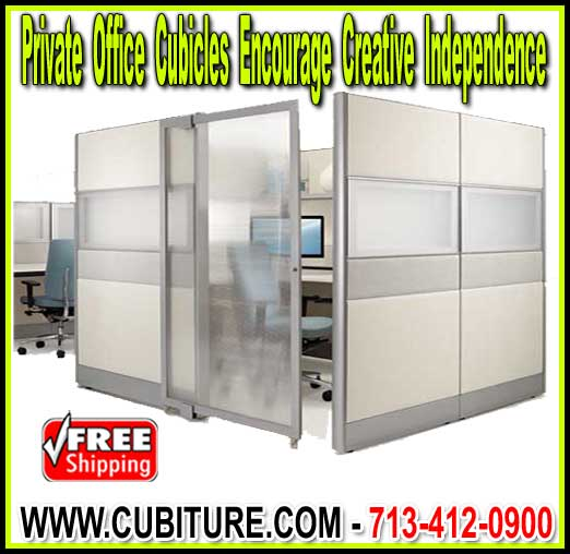 Commercial Enclosed Private Office Cubicles For Sale Factory Direct Guarantees Lowest Price With FREE Shipping