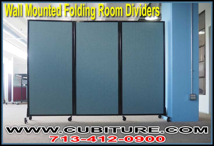 How To Share An Office With A Wall Mounted Folding Room Screen Divider Video