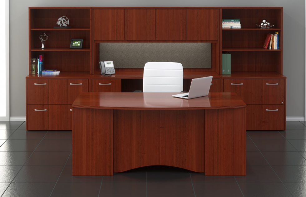 Discounted Allegiance Office Desks For Sale Factory Direct