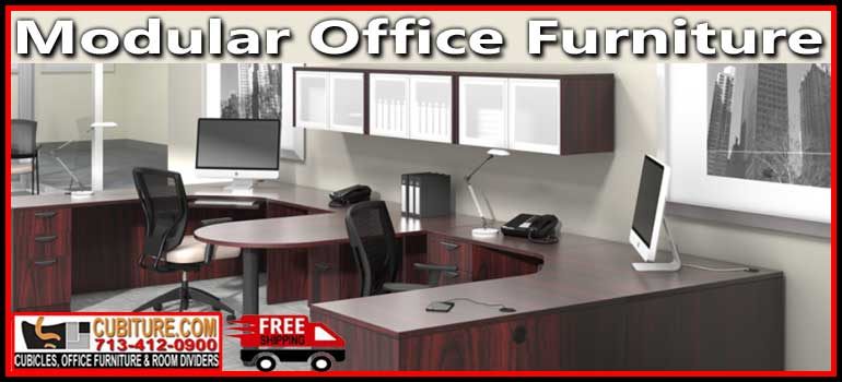 Modular Office Furniture manufacturers In Houston Wholesale Guarantee Free Shipping and Quote