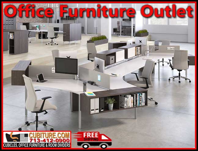 Wholesale Office Furniture Outlet at Houston Guarantee Free Shipping and Layout Planning