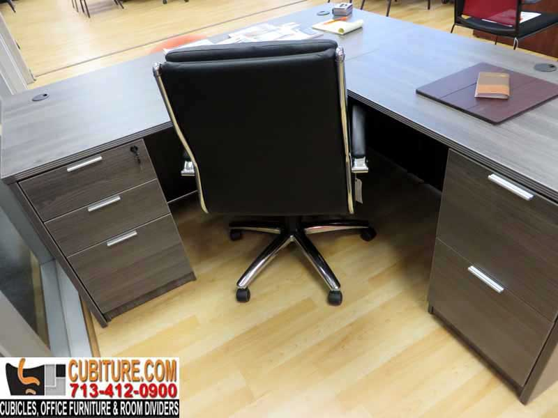 Affordable L-Shaped Desk For Any Office At Houston texas