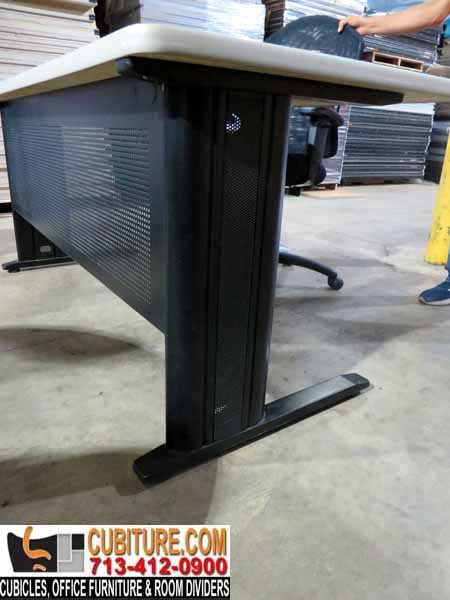 Pre-Owned Industrial Desk In Excellent Condition Available In Houston Texas