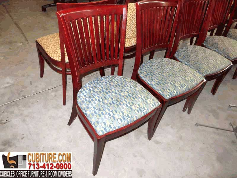 Pre-Owned Quality Wood Office Chair For Sale In Houston Texas Available Guarantee Free Quote