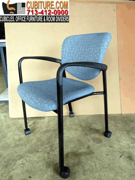 Used Office Waiting Room Chairs With Wheels For Organized Reception Rooms