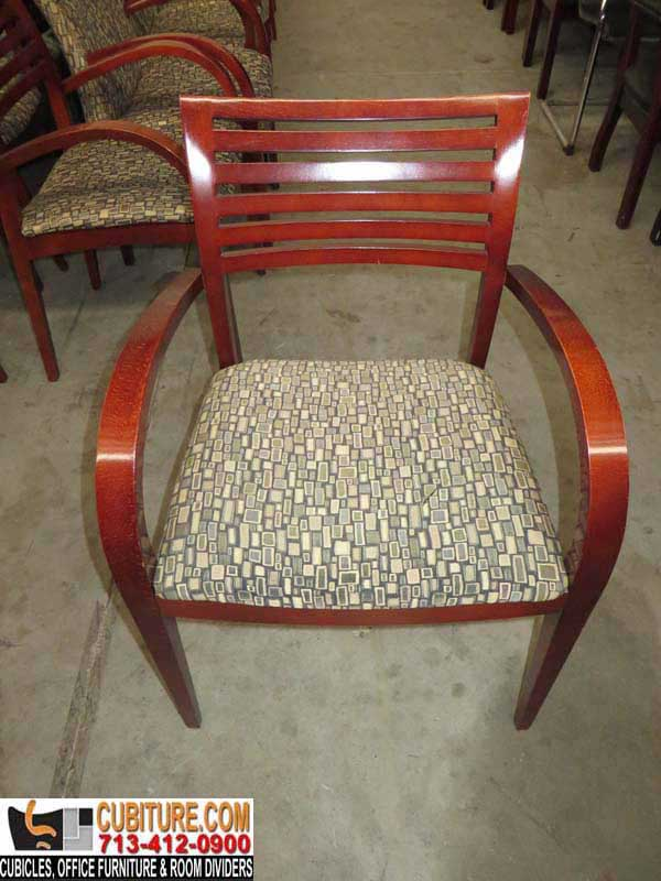 Second-Hand Quality Wood Contemporary Guest Chair For Sale In Galveston San Antonio Sugarland Beaumont