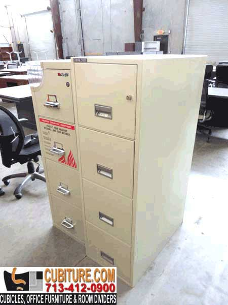 Second-Hand fireproof cabinet for your important documents for sale in houston galveston beaumont dallas austin