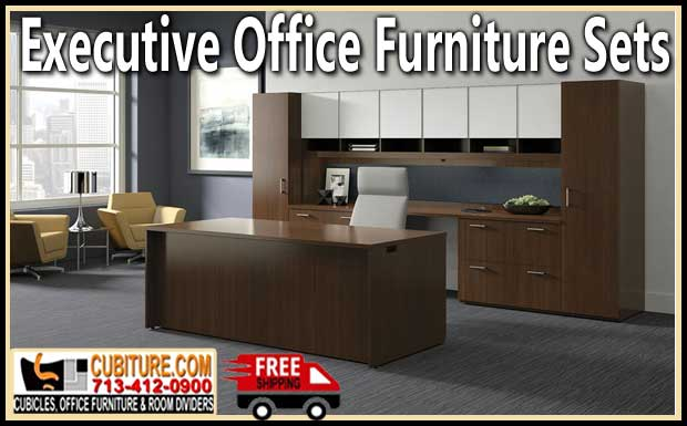 Discount Executive Office Furniture Sets For Sale Factory Direct Pricing With FREE Shipping
