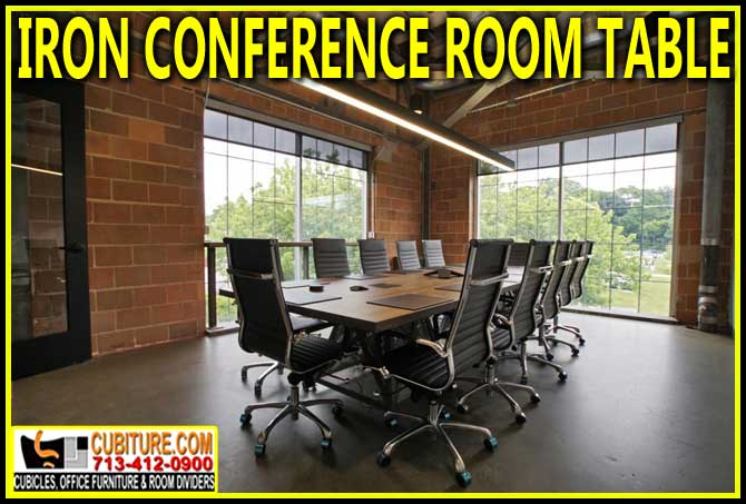 Discount Iron Conference Room Table Manufacturer Direct Guarantees Lowest Price With FREE Shipping