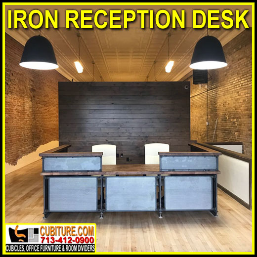 Discount Iron Reception Desk For Sale Factory Direct Guarantees Lowest Price With FREE Shipping