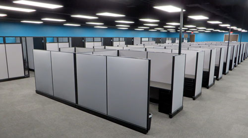 Revention Cubicle Installation Services