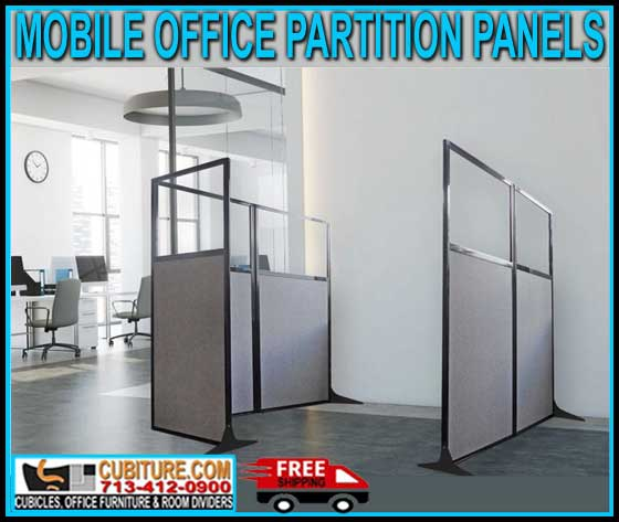 Discount Mobile Office Partition Panels For Sale Factory Direct With FREE Shipping